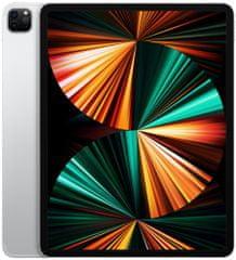 "Apple iPad Pro 12,9"" 2021, Cellular, 256GB, Silver (MHR73FD/A)"
