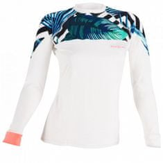 AQUALUNG Dámske lycrové tričko RASH GUARD Xscape, dlhý rukáv biela XL - 44