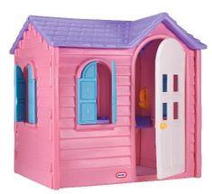 Little Tikes igralna hiša, podeželska, roza