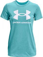 Under Armour Dámské tričko Sportstyle Modrá / Bílá, XL