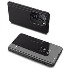 MG Clear View knjižni ovitek za Xiaomi Redmi K40 / Poco F3, črna