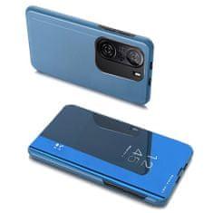 MG Clear View knjižni ovitek za Xiaomi Redmi K40 / Poco F3, modro