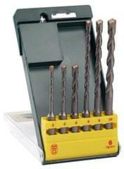 Bosch Set udarnih svedrov SDS-plus, 6 kosov (2607019447)