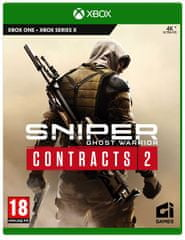 CI Games Sniper Ghost Warrior Contracts 2 igra (Xbox One in Xbox Series X)
