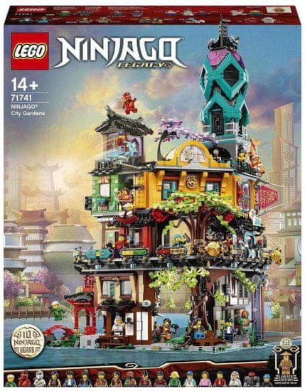 LEGO Ninjago 71741 Ogrody miasta