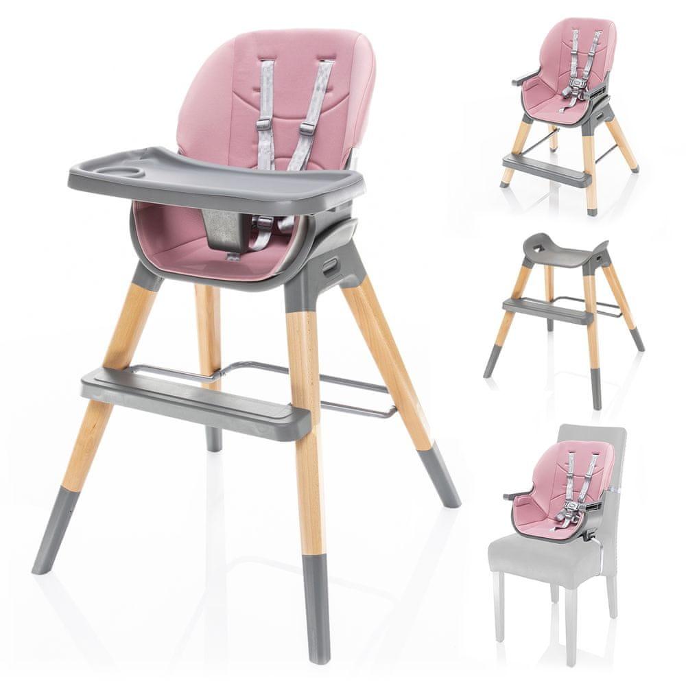 ZOPA Dětská židlička Nuvio Blush pink