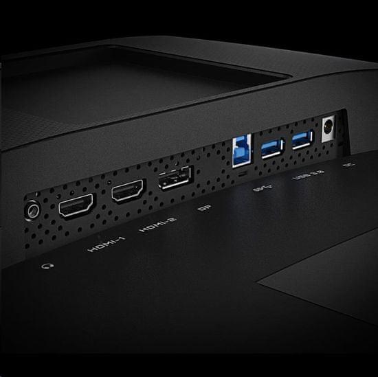 Gigabyte G32QC A igralni monitor, VA, QHD, 80 cm, ukrivljen