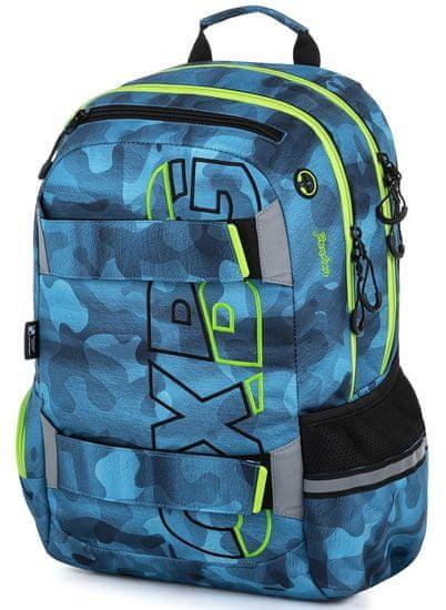 Karton P+P Studentský batoh OXY Sport Camo boy