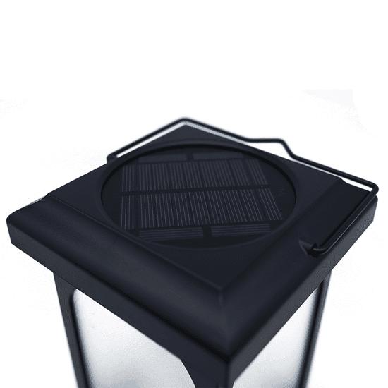 Solarcentre Záhradná solárna lucerna TrueFlame Solar Crook SS9968 s USB