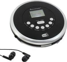 Soundmaster CD9290SW, černá/stříbrná