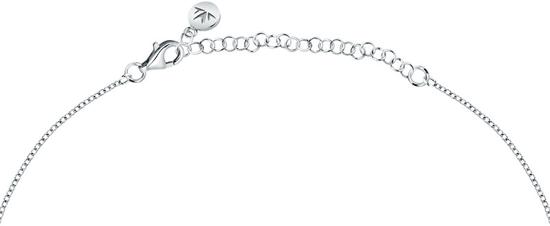 Morellato Csillogó ezüst nyaklánc kristállyalTesori SAIW98 ezüst 925/1000