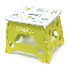 bblüv Stäp Skládací stolička Lime