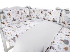 COSING 3-delni komplet posteljnine, gozdni prijatelj