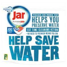 Jar Platinum Plus Kapsle do myčky Quickwash, 100 Ks