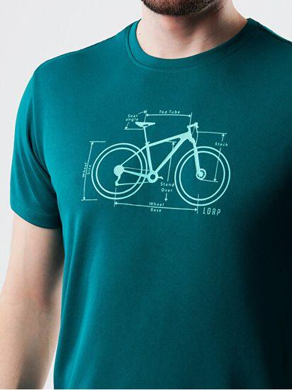 Loap T-shirt męski Kubki TLM2107-P35P