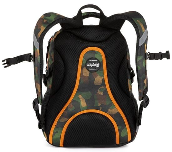 Karton P+P Školní batoh OXY SCOOLER Camo