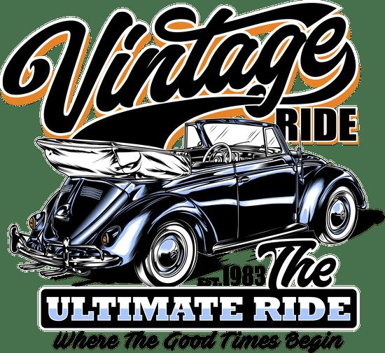 BrinX.cz VW Brouk Vintage Ride - nové tričko