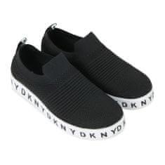 DKNY Dievčenské tenisky čierne DKNY-DKNY
