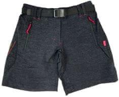 MAYA MAYA Kratke pohodne hlače Sana Bermuda, črne, XS