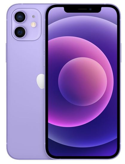 Apple iPhone 12 pametni telefon, 256 GB, Purple