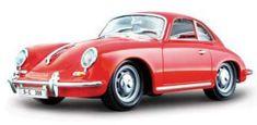 BBurago 1:24 Porsche 356B Coupe (1961) Red