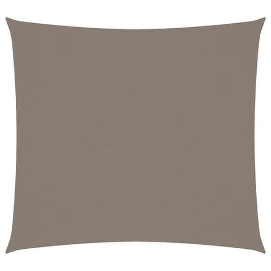 shumee Pravokotna vrtna jadra Oxford Cloth 2x2,5 m Taupe