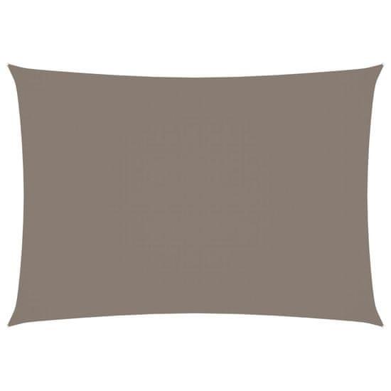 shumee Pravokotna vrtna jadra Oxford Fabric 2x4m Taupe