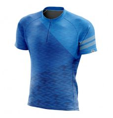 Northfinder Dewerol moška kolesarska majica, modra, S