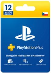 Sony PlayStation Plus 365 dní karta (CZE)