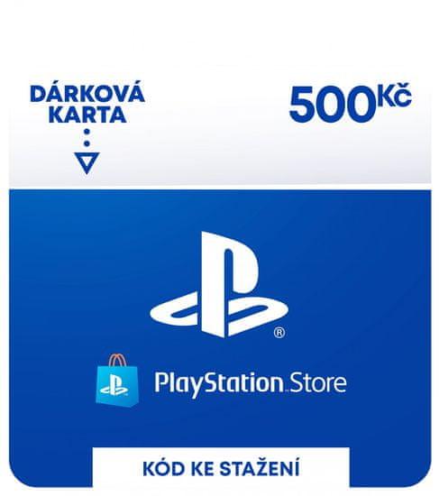 Sony PlayStation Store – Dárková karta 500 Kč (SCEE-CZ-00050000) - elektronicky