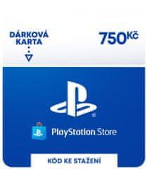 Sony PlayStation Store naplnění peněženky 750 Kč (SCEE-CZ-00075000) - elektronicky