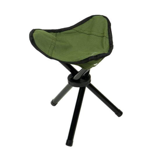 Berger skládací sedátko stolička trojnožka CF-2204