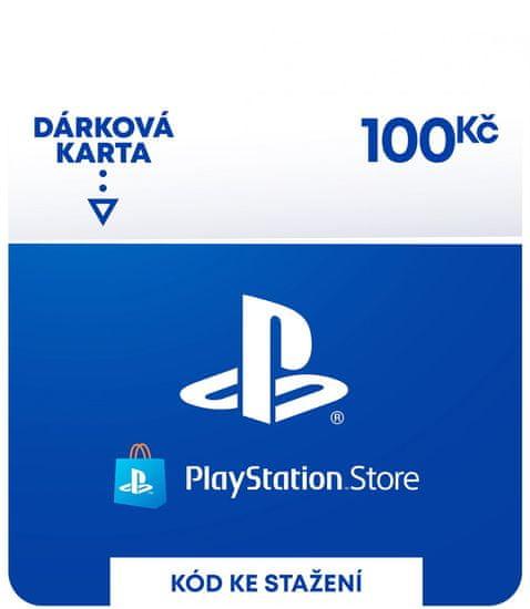 Sony PlayStation Store – Dárková karta 100 Kč (SCEE-CZ-00010000) - elektronicky