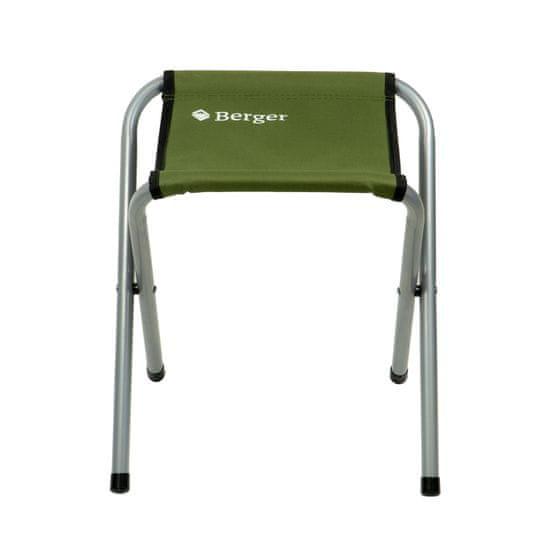Berger Kempingove skládací sedátko stolička CF-2203