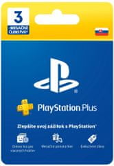 SONY PlayStation Plus Card Hang 90 Days (SK)