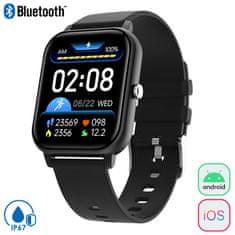Trevi T-Fit 270 športna ura, Bluetooth, IP67, črna