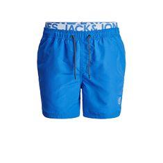 Jack&Jones Moške plavalne kratke hlače JJIBALI 12183795 French Blue (Velikost L)