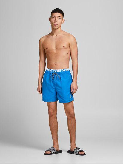 Jack&Jones Moške plavalne kratke hlače JJIBALI 12183795 French Blue