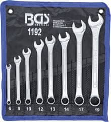 BGS technic Sada Očkovidlicových kľúčov 8dielna 6-19mm profi.