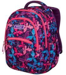Target 2 u 1 Curved ruksak, Butterfly Swarm (26956)