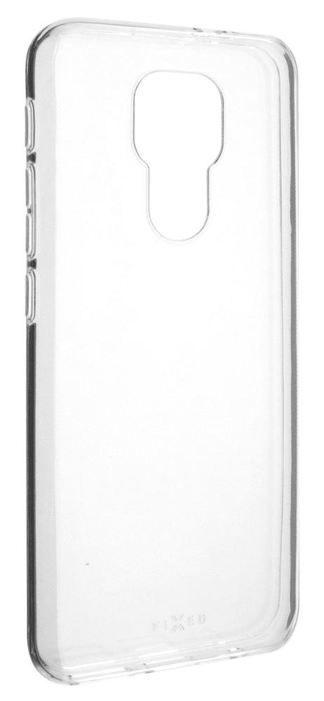 FIXED Ultratenké TPU gelové pouzdro Skin pro Motorola Moto E7 Plus, 0,6 mm FIXTCS-591, čiré