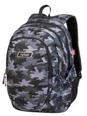 Target 3 Zip Duel ruksak, Combat Grey (26935)