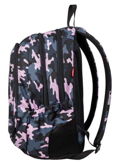 Target 3 Zip Duel ruksak, Combat Pink (26938)