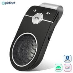 Platinet Platinet PHFSBT01 Bluetooth naprava za prostoročno telefoniranje, črna