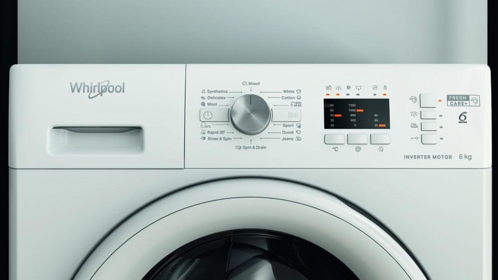 Whirlpool pračka FFL 6238 W EE + 10 let záruka na motor