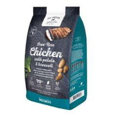 GO NATIVE Chicken with Potato and Brocolli 12kg ultra prémium kutyatáp 70% hústartalommal