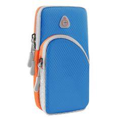 MG Sport Running tekaški etui za telefon, svetlo modra