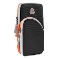 MG Sport Running tekaški etui za telefon, črna