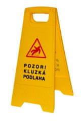 vybaveniprouklid.cz Výstražná cedule Pozor mokrá podlaha - kluzká podlaha