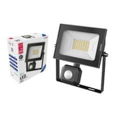 Avide SMD LED reflektor 30W slim hladno bel 6400K s senzorjem